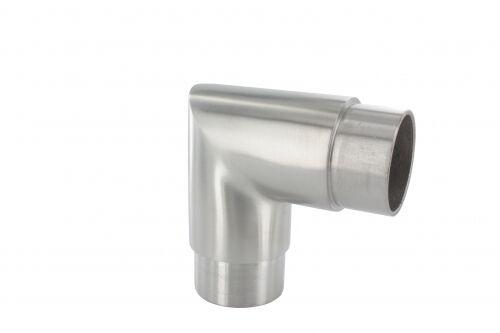 Rohrbogen 90° scharf in VA Edelstahl für Rohr 42,4 x 2 mm