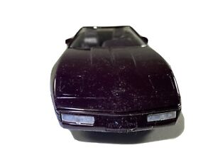 Vintage Chevrolet Corvette Convertible Promo Car Black Rose Metallic