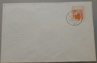 """Ddr Fdc 634 """"seehafen Rostock"""" Orts-st Diverse Philatelie """"erfurt 1a 5.7.58"""" Attraktive Mode Briefmarken"""