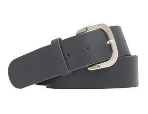 Shenky-schwarzer-4cm-Lederguertel-bis-170cm-lang