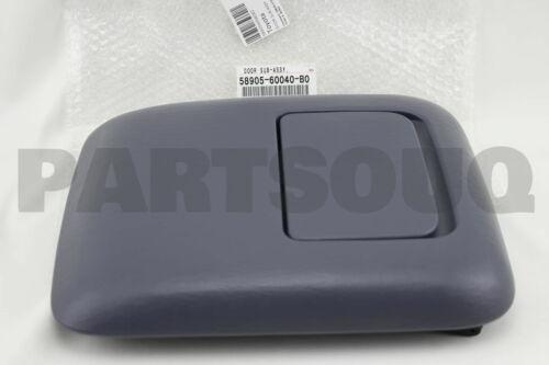 CONSOLE COMPARTMENT 58905-60040-B0 5890560040B0 Genuine Toyota DOOR SUB-ASSY