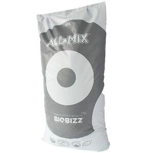 BIOBIZZ ALL MIX 3 SACCHI DA 20 L LT SUBSTRATO TERRICCIO MEDIUM BIOLOGICO PERLITE