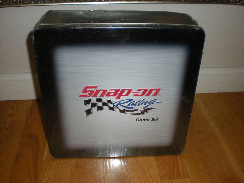 NIB Snap-On Racing Game-Set Sealed Sealed Sealed 8683b2