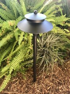 Bronze Led Outdoor Low Voltage Landscape Path Light