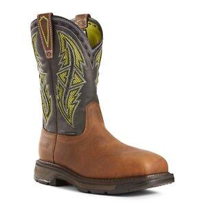 42f55ee7a40 Details about Ariat® Men's WorkHog® XT VentTEK™ Spear Carbon Toe Work Boots  10027307