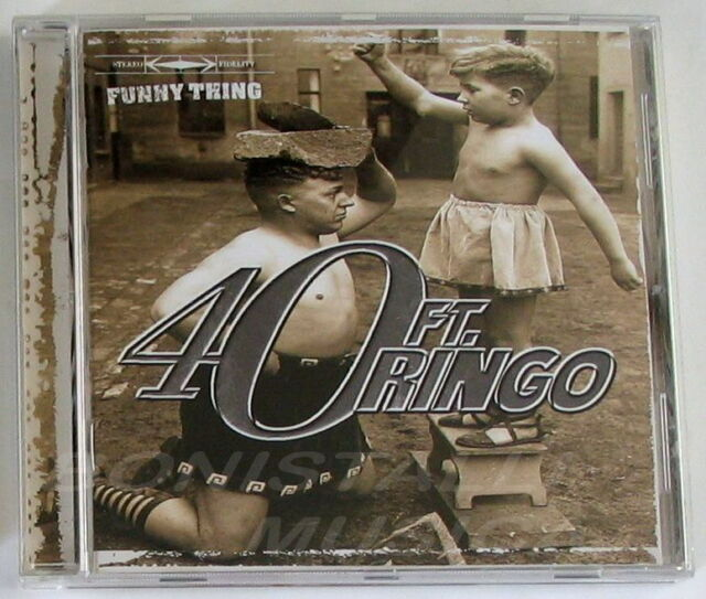 40 FT. RINGO - FUNNY THING - CD Nuovo Unplayed