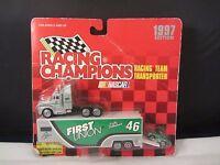 RARE 1995 LOY ALLEN #27 JACKAROO HOOTERS RACING CHAMPIONS TRANSPORTER W CAR