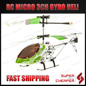 RC-Micro-3-CH-V-Max-Metal-Frame-Helicopter-6020-Gyro