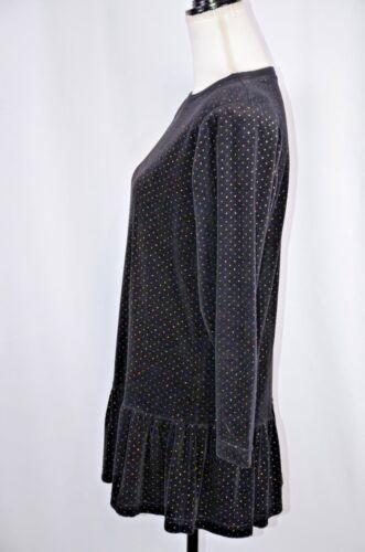 fondo pullover cotone donna Geddes da con USA in di unica cotone Joan abbacinato taglia Camicetta YwAFx4pqP