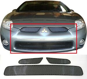 CCG 06-08 MITSUBISHI ECLIPSE MESH GRILLE GRILL TOP AND BOTTOM ...