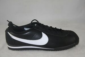 YOUTH-NIKE-CORTEZ-LEATHER-GS-749482-001-BLACK-WHITE