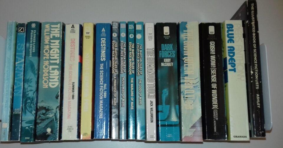 Science Fiction Bøger Books, Various, genre: science