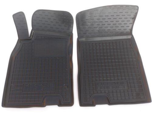 2008-2016 TAPPETI TAPPETINI IN GOMMA su misura Renault Megane 3 hatchback