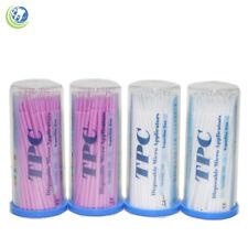 Dental Disposable Micro Applicators Brush Bendable Size Superfine 400 Pcs