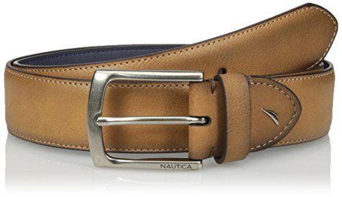 Pick SZ//Color. Nautica Mens Accessories Two-tone Casual Belt