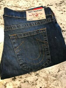 TRUE RELIGION BRAND JEANS   ROCCO RELAXED SKINNY  MEN'S (W36) 225