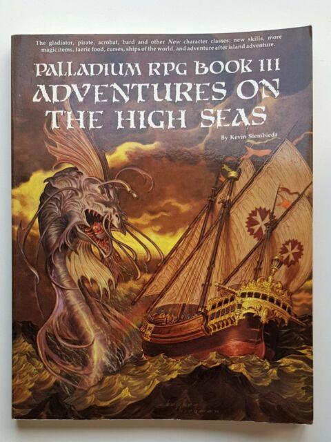 Palladium Fantasy Book 3 Adventures on the High Sea Palladium Books RPG
