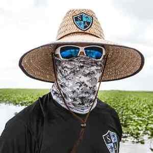 Salt armour grey digital camo face shield sun mask for Fishing face shield