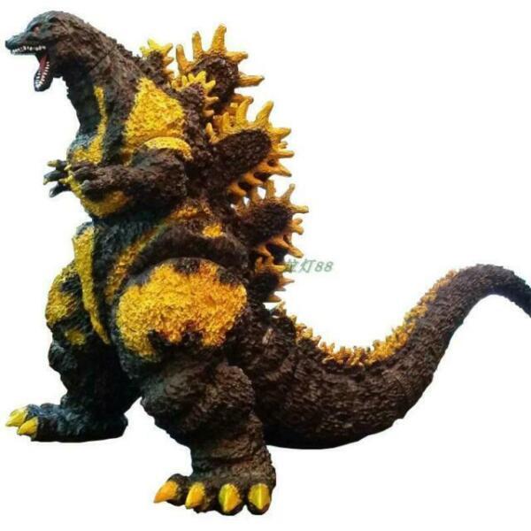 "NEW Super Big 1995 Godzilla Mode PVC Painted Figure Statue 33""L// 18/""H"