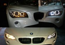 ANGEL EYES BMW E84 E87 E90 E92 E60 E61 E70 E71 EFFETTO XENON SUPER WHITE 6000K