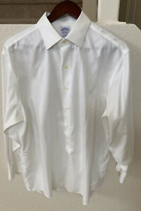 Brooks-Brothers-Men-039-s-Long-Sleeve-Dress-Shirt-Button-Down-Original-Polo-16-5-33