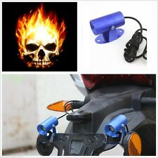 Universal Ghost Rider Skull Logo Projection LED Laser For Yamaha FZS