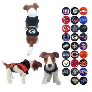 NFL Dog Harness Vest Mesh Hood for Dogs Puppy Fan Gear Game Pick ... d52ef9b3c