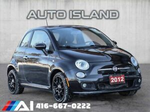 2012 Fiat 500 SPORT**5SPD**SUNROOF**LOW KMS