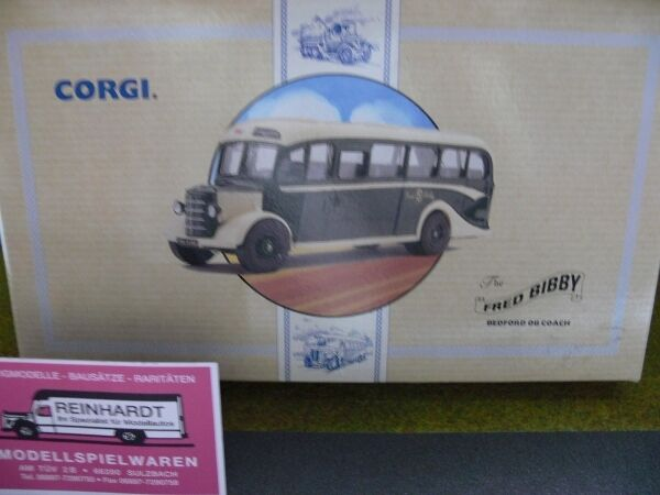 1 50 Corgi Bedford si autobús Frojo bibby 97106