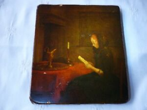 reproduction tableau Dame lisant Gerard Terborch
