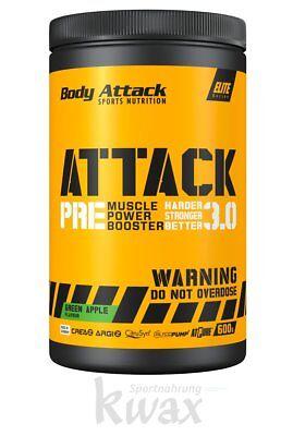 (49,83 Euro/kg) Body Attack - Pre Attack 3.0 Booster - 600g Kunden Zuerst