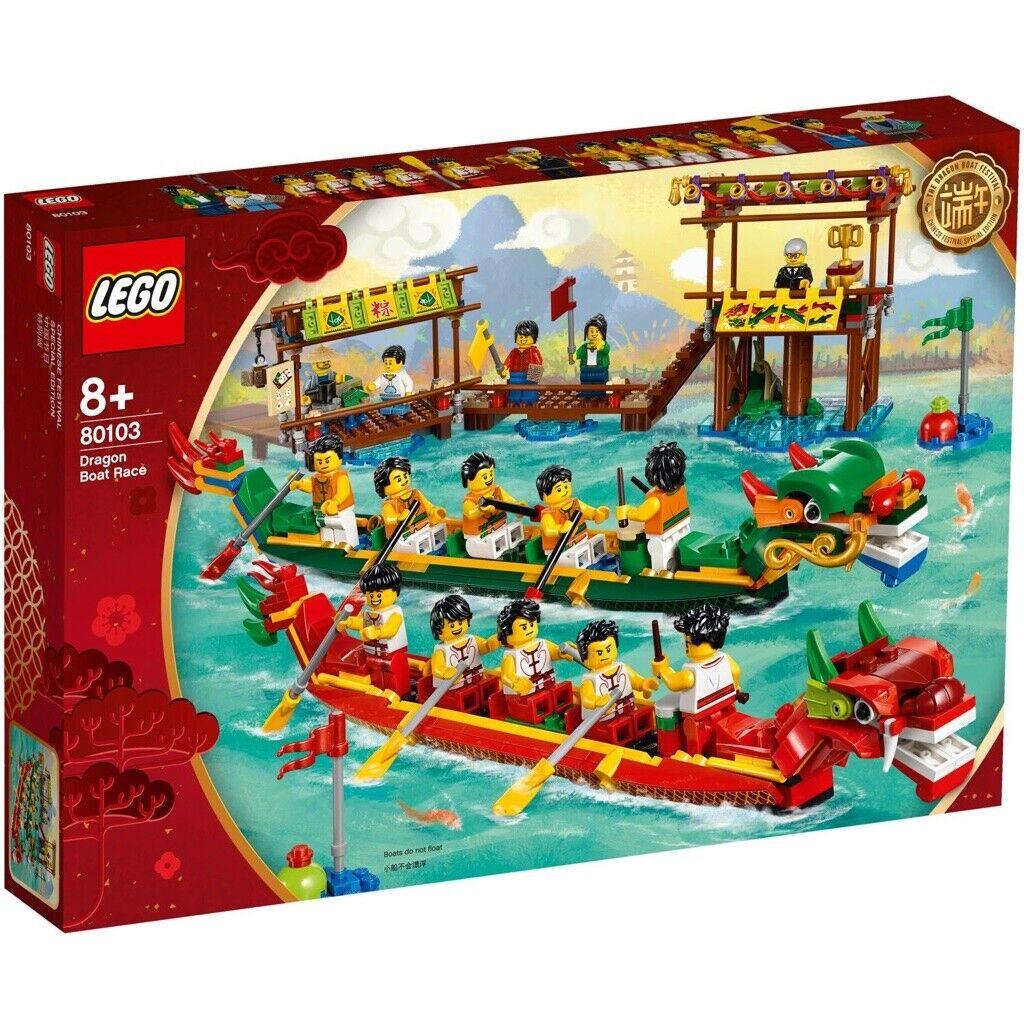 Lego 80103 Dragon Boat Race (2019 saisonniers Limited Edition) - 1st Classe Livraison