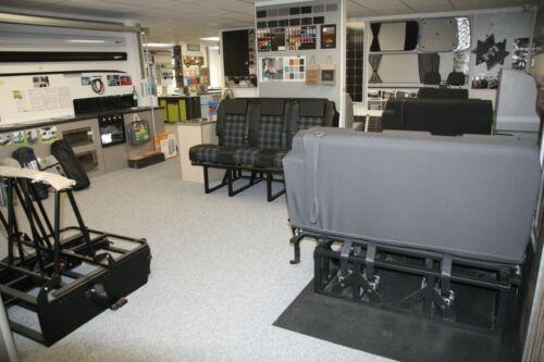 500mm Round Table Top for Campervan Motorhome Caravan Linen Finish Light Weight