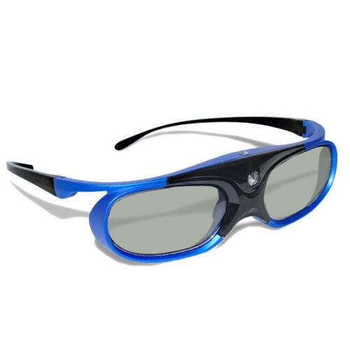 Leggero otturatore attivo Occhiali 3D RICARICABILI 178 ° per Proiettore DLP Link
