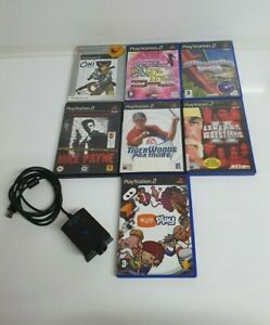 Playstation-2-PS2-Game-Bundle-7-games-eye-toy-all-tested-and-working