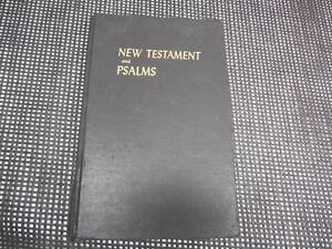 Details about THE NEW TESTAMENT AND THE BOOK OF PSALMS King James Version
