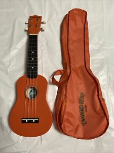 Diamond Head DU-103 Rainbow Soprano Ukulele Orange