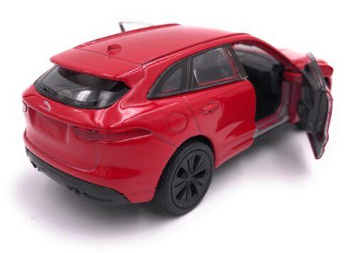 Jaguar F-pace SUV maqueta de coche auto producto con licencia escala 1:34-1:39