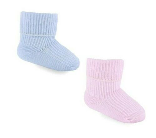 BRAND NEW BABY TURNOVER SOCKS  SIZE NB 0-3  MONTHS