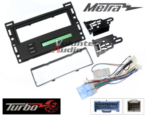 Cobalt /& Pontiac G6 Metra 99-3303 Single Din Stereo Dash Kit For Chevy Malibu