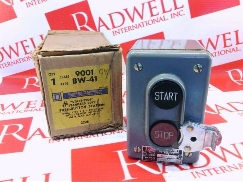 SCHNEIDER ELECTRIC 9001-BW41   9001BW41 (USED TESTED CLEANED)