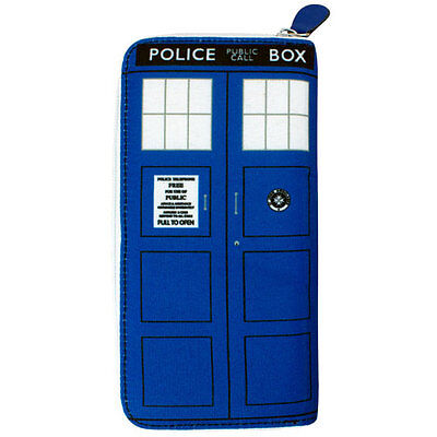 Doctor Who - TARDIS Ladies Clutch Wallet Purse NEW * licensed item