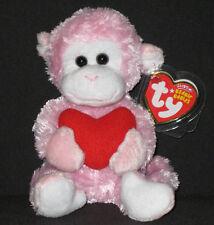 Monkey w//Heart 40807 Ty Beanie Baby Mischief
