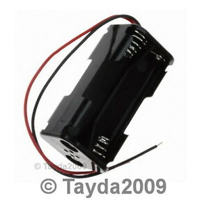 2-PCS-4-x-AA-Compact-Battery-Holder-FREE-SHIPPING-HIGH-QUALITY