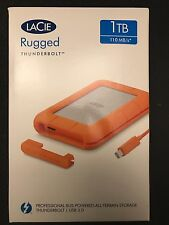 LaCie Rugged 1TB External USB 3.0/Thunderbolt Portable Hard Drive