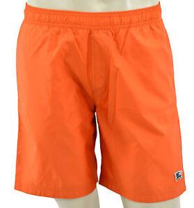 8fe56382e00 Image is loading 225-BURBERRY-Brit-Orange-Swim-Shorts-Trunks-Size-