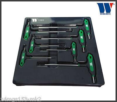 Werkzeug - T-Handle Torxs Set - T10 - T40- 7 Pcs - Pro Range, 1191