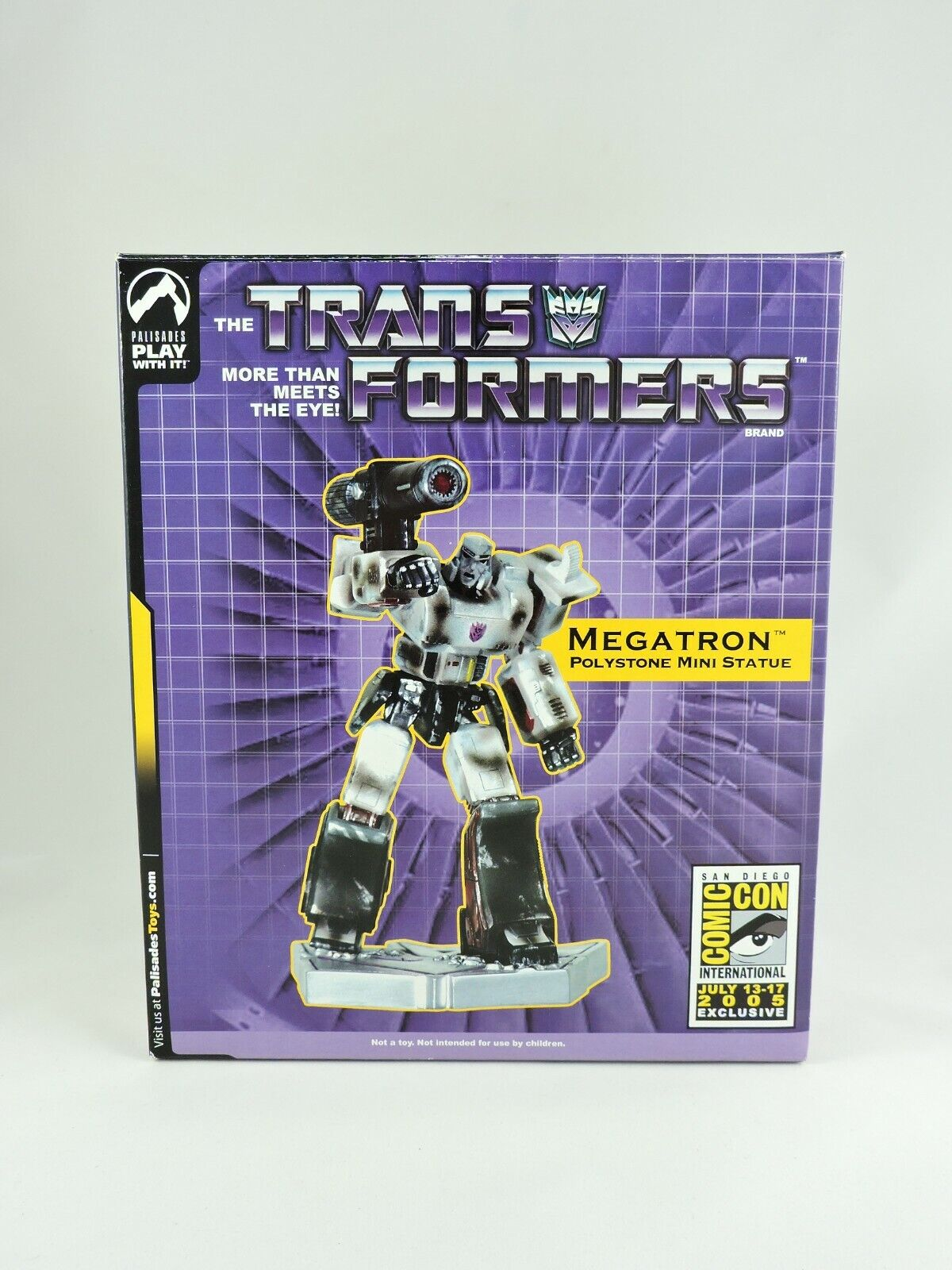 Megatron Polystone Statue Transformers 2005 San Diego comic-con Artist Proof 34 120 Palisades 6