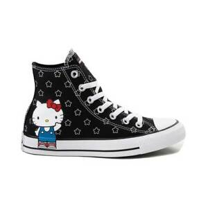 Details about NEW Converse x Hello Kitty Chuck Taylor All Star Hi Stars women's shoe sneaker