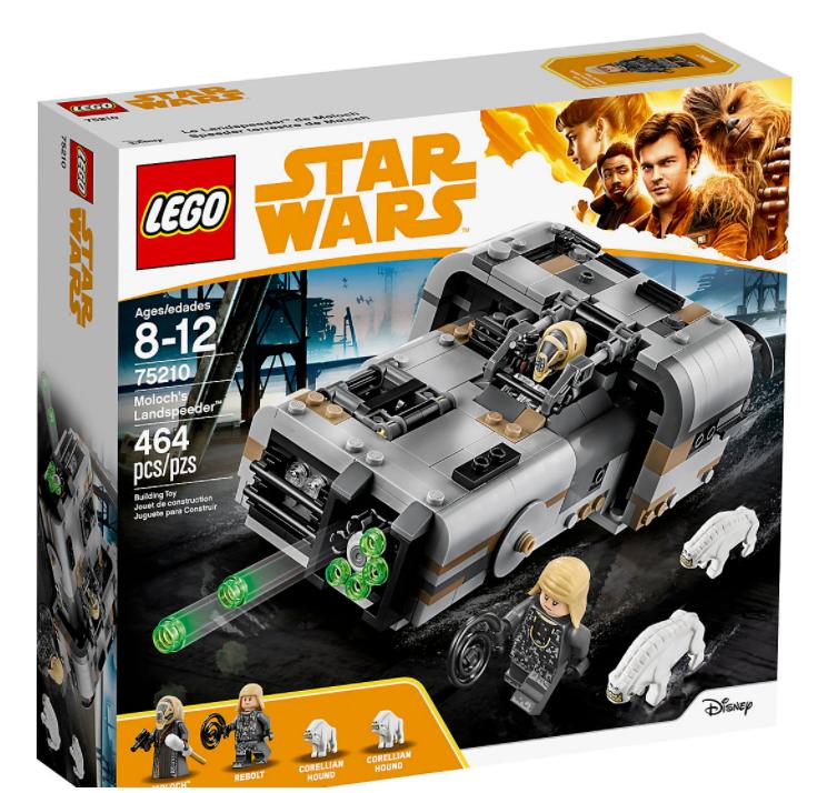 LEGO Star Wars 75210 MOLOCH'S Landspeeder ~ nuovo & non aperto ~